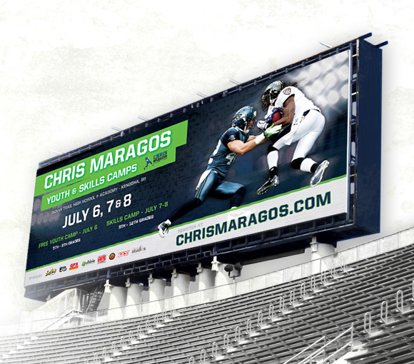 Chris Maragos 2012 Skills Camp Banner Jumbotron